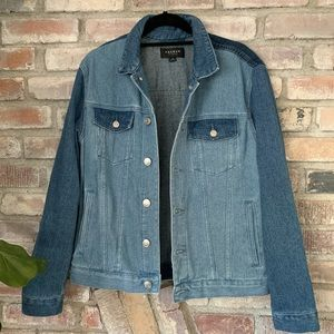PACSUN two toned denim jacket